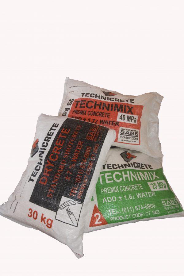 Prebagged mining 2 - Technicrete