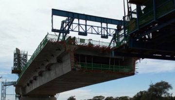 construction of Kazungula Bridge in Zambia halts