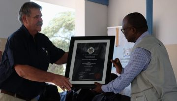 JG AFRIKA PROJECT PROVIDES BLUEPRINT FOR WATER SUPPLY IN RURAL BOTSWANA