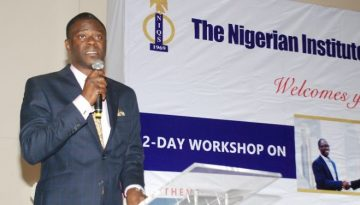 NIQS TABLES AGENDA FOR CONSTRUCTION INDUSTRY REFORM