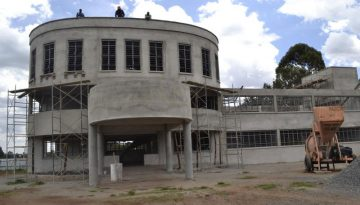 PHASE ONE OF ELIUD KIPCHOGE SPORTS COMPLEX IN KENYA NEARS COMPLETION