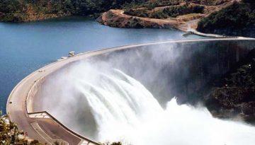 Rehabilitation work on Kariba Dam