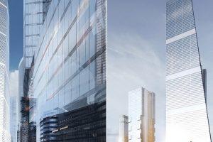 Future moscow skyscraper