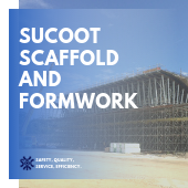 SUCOOT SCAFFOLD AND FORMWORK banner