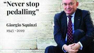 MAPEI MOURNS THE PASSING OF GIORGIO SQUINZI