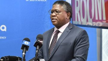 MBALULA URGES EFFORTS TO OVERCOME INEFFICIENCIES INFRASTRUCTURE BACKLOGS