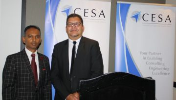 CESA President, Sugen Pillay and CEO, Chris Campbell