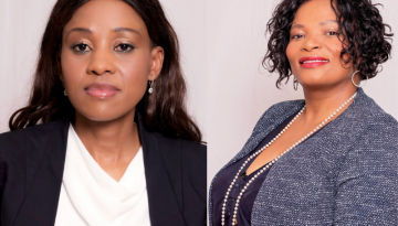 DR. Joy Ndlovu, Board Chairperson and Mrs. Patt Chalwa, Chief Executive Officer