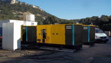 qes 250 mobile diesel generator application