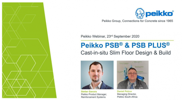 Peikko Webinar image