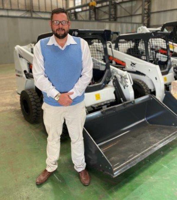 Klinton Kane New Equipment Sales & Used Equipment Manager at Goscor Earthmoving Equipment and Bobcat Equipment.