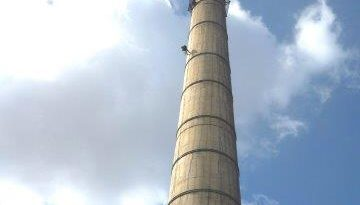 Remedial work at a petchem smokestack lead to Skyriders providing secure access and work-at-height for Proconics