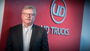 Rory Schulz Marketing Sales Director UD Trucks Southern Africa
