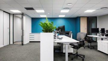 Versatile, functional office furniture at Ninety One at Menlyn Maine, Pr...