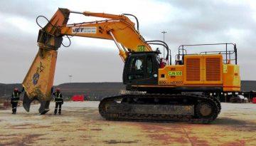 Jet Demolition has over 60 specialised demolition machines in its fleet