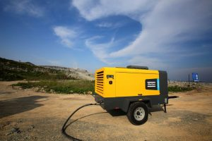 Super-efficient XRHS 650 PACE air compressor from Atlas Copco