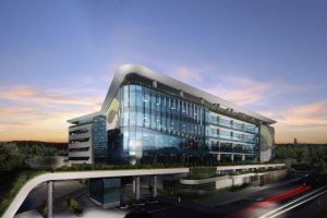 The Exxaro head office at Lakeside in Centurion developed by Growthpoint Properties