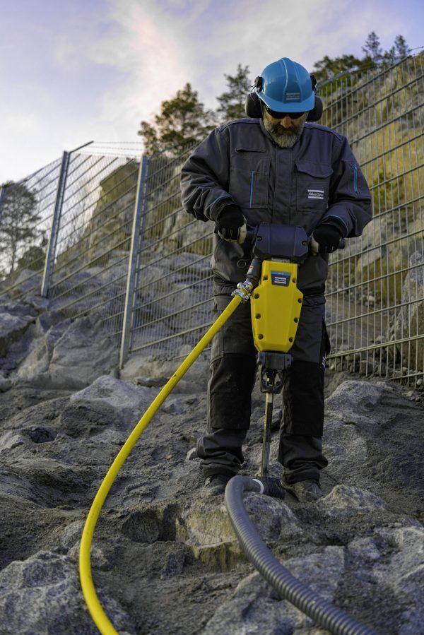 SRD 20 rock drill vertical