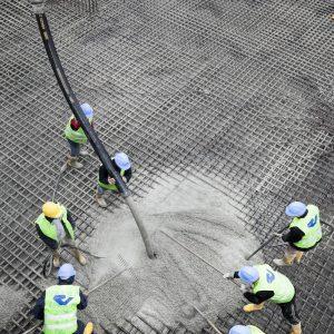 Low Viscosity Concrete