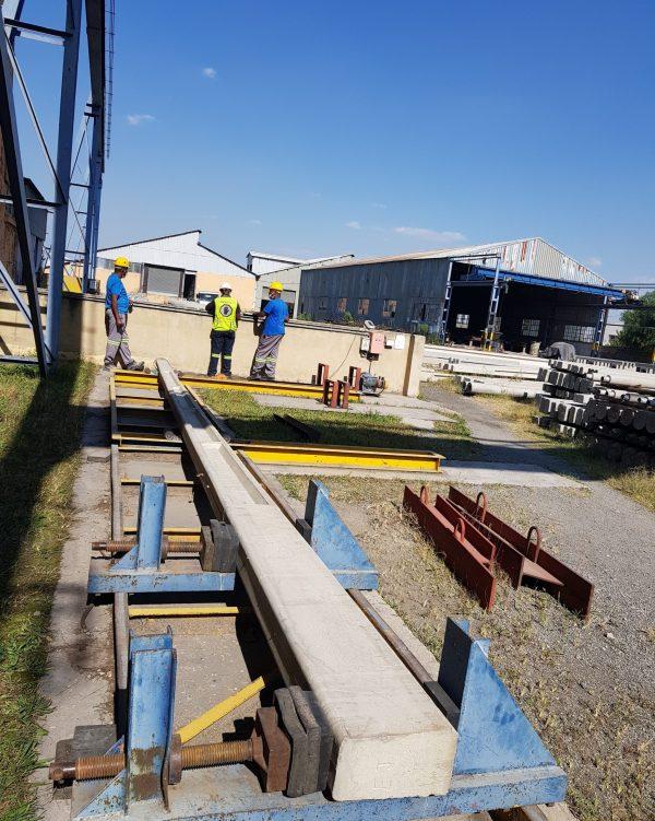 Rocla Concrete Cast poles 1